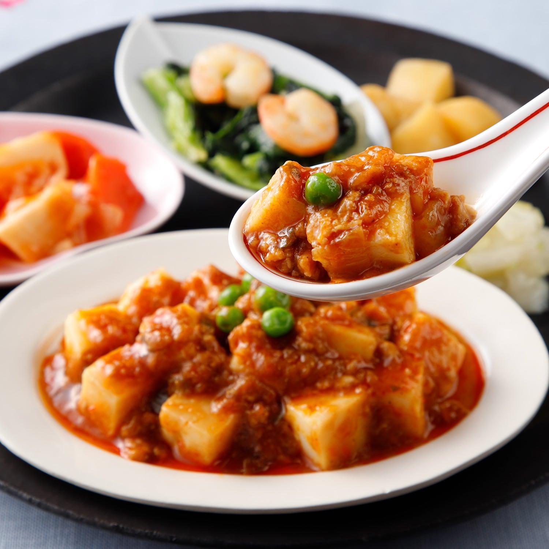 気くばり御膳 麻婆豆腐とおかず4種