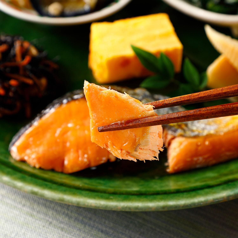 気くばり御膳 銀鮭の照り焼きセット