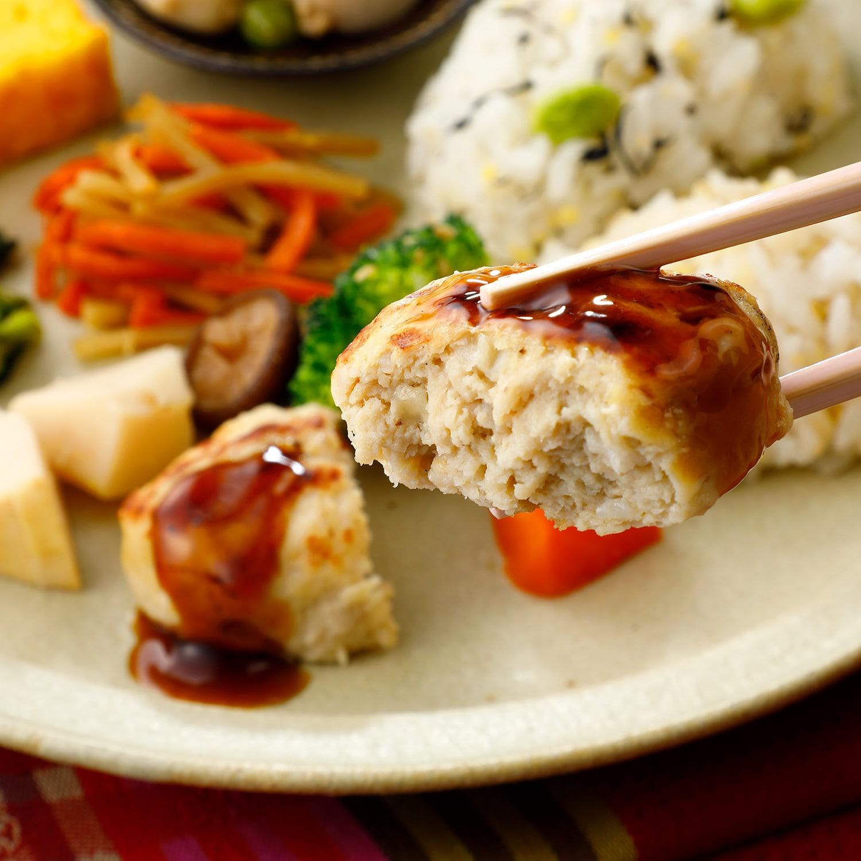 ウーディッシュ 鶏つくねと野菜の炊き合わせ