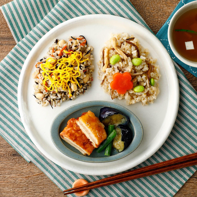ウーディッシュ 和ごはんと豆腐のひき肉包み揚げ