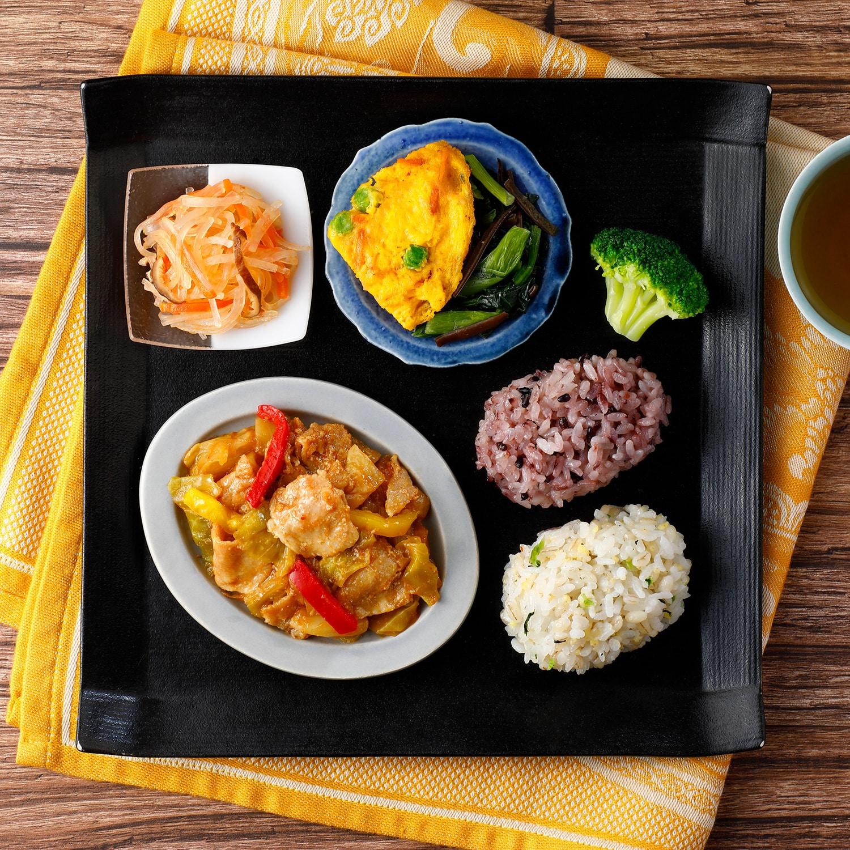 ウーディッシュ 彩り野菜の回鍋肉