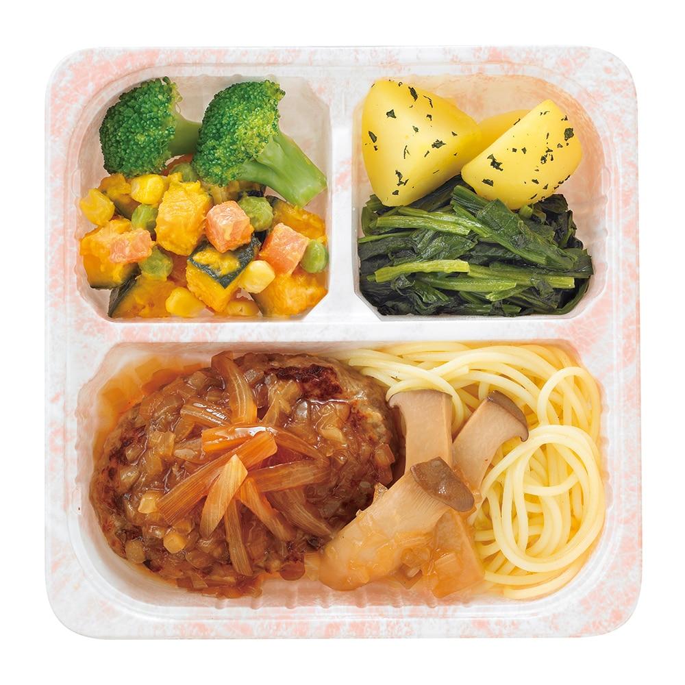 気くばり御膳 秋採れ玉ねぎのオニオンソースハンバーグセット 5食セット