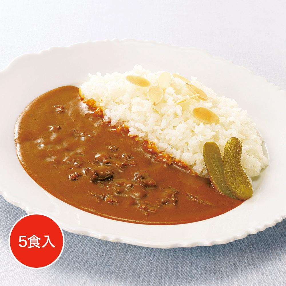 レストランユース ビーフカレー中辛 5食