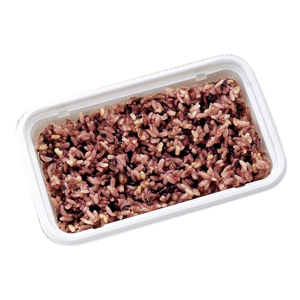 冷凍ごはん 黒米と小豆のごはん