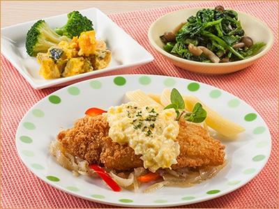気くばり御膳 白身魚フライ・タルタルソースセット