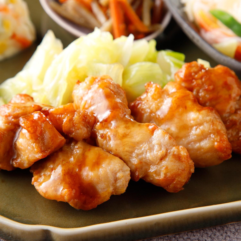 気くばり御膳 鶏肉の照り焼き風セット