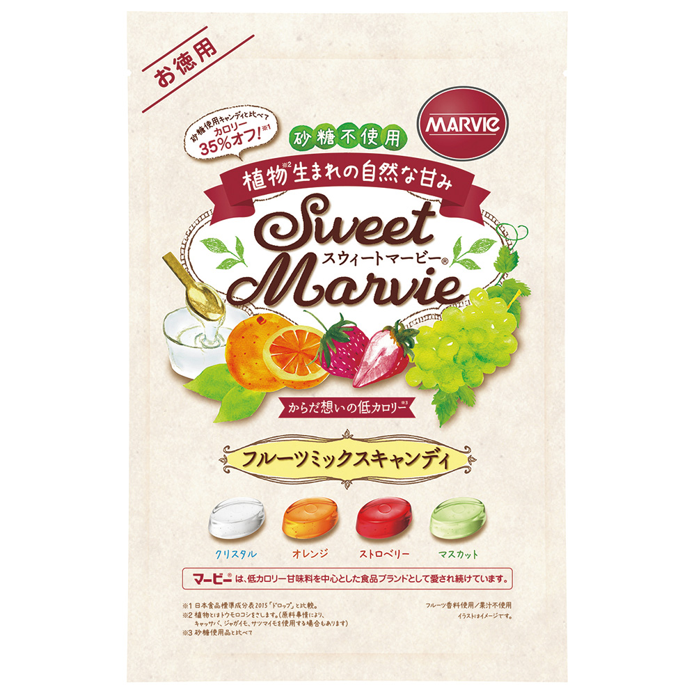 スウィートマービーフルーツミックスキャンディお徳用