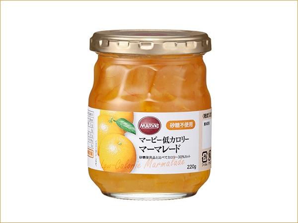マービー 低カロリー オレンジマーマレード(瓶)