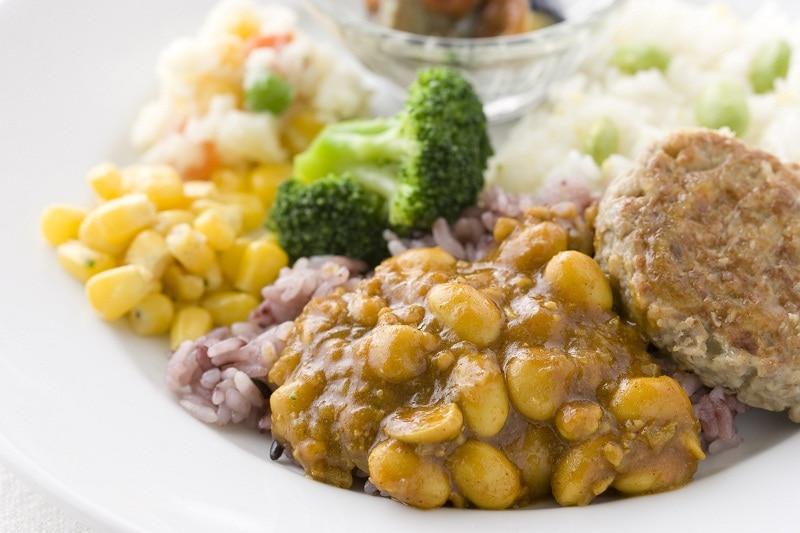 ウーディッシュ ひよこ豆と大豆のカレー