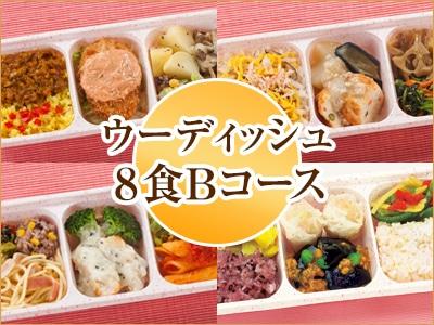 ウーディッシュ 8食Bコース