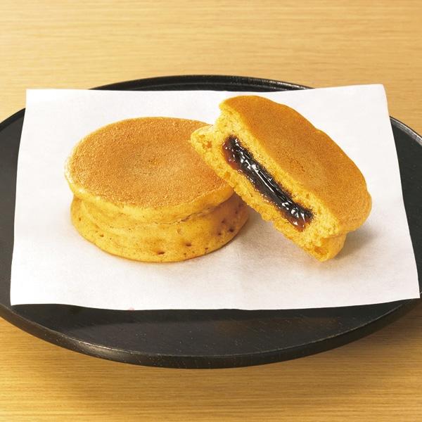 和のパンケーキ(きなこ&黒糖蜜)
