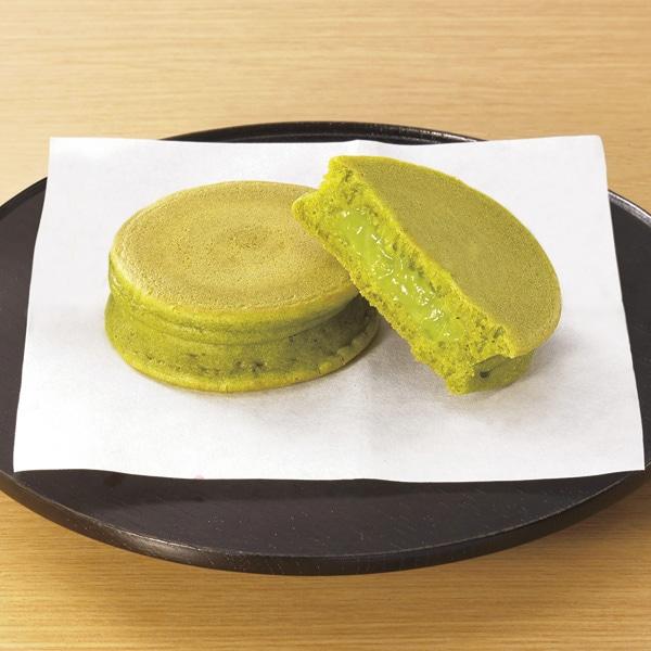 和のパンケーキ(抹茶クリーム)
