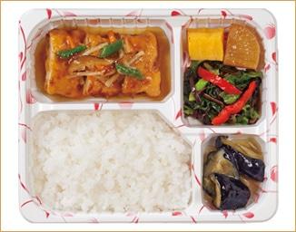 キッセイ 豆腐のひき肉包み野菜あんかけ弁当