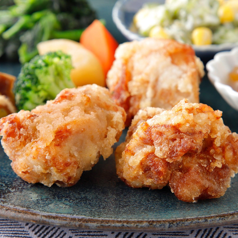 気くばり御膳 丸大豆醤油仕立ての鶏からあげセット