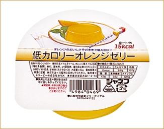 ジャネフ 低カロリーオレンジゼリー(6個入)