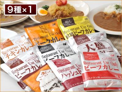 レストランユース カレーバラエティセット 9食セット(9種*各1入)