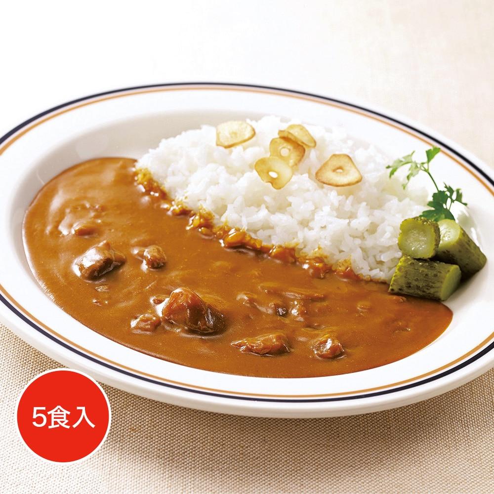 レストランユース 中辛カレー(ポーク) 5食