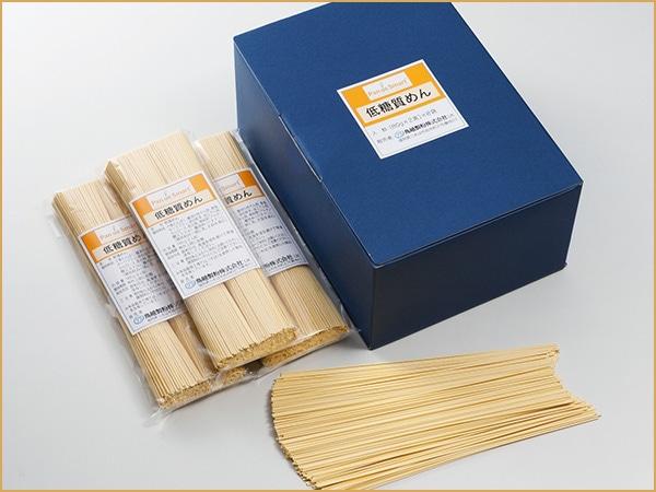 鳥越製粉 低糖質めん(乾燥めん) 80g*2束*8袋/箱入り