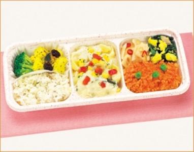 ウーディッシュ 白身魚と彩り野菜のクリーミーホワイトソース