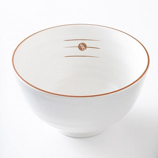 オリジナルめもり茶碗