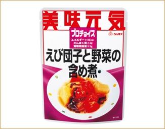 ジャネフ プロチョイス えび団子と野菜の含め煮[たんぱく質調整食品]